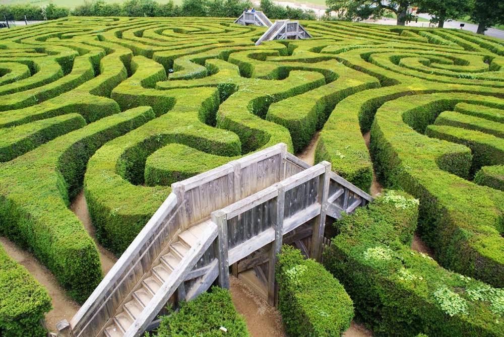 Labirinto longleat inglaterra for Giardino labirinto