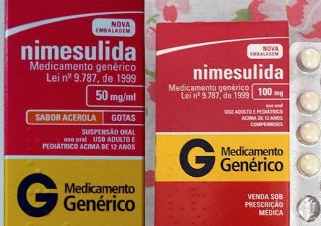 Medicamento NIMESULIDA é altamente tóxico para o fígado e