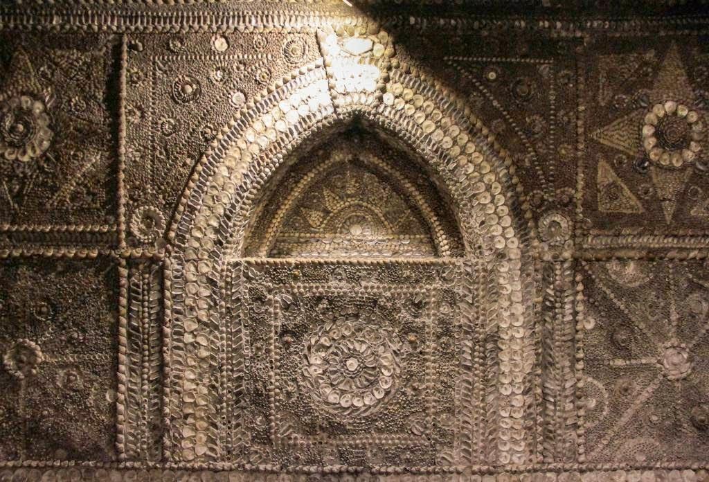 construir gruta jardim : construir gruta jardim:misteriosa Gruta de Conchas de Margate