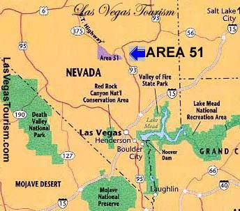 Resultado de imagem para A MISTERIOSA ÁREA 51 EM NEVADA-USA